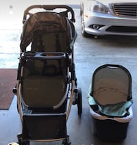 2009 uppababy stroller and bassinet  Fremont, 94536