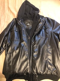 Obey leather Jacket Humble, 77338
