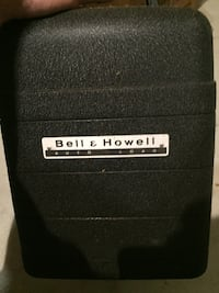 Bell & Howell 8mm Movie Projector Model 256 Auto Load +light kit Eastpointe