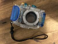 Underwater WP-DC26 camera case for Canon PowerShot Elph