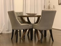 Walnut table with four chairs, together or separate Reisterstown, 21136