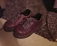 pair of brown leather boots London, 40744