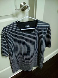 Grey & White striped knit $5 Kelowna, V1V