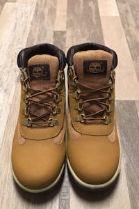 Timberland Big Kids Wheat Brown Leather Scuff Proof Boots  Glenn Dale, 20769