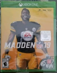 Madden NFL 19 brand new and sealed for xbox one Toronto, M4J 1N4