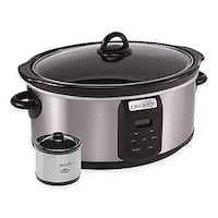 7-quart programmable Crock Pot (as pictured; Little Dipper not included). EUC. Retails for $55. Cross posted. Ashburn, 20147