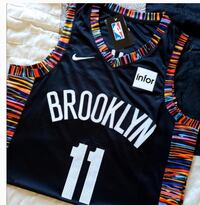 """Kyrie Brooklyn Nets """"Coogi"""" style 3rd team jersey. Very rare find Englewood, 07631"""