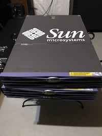 Oracle sun microsystems servers. $150 each. Willing to negotiate on price. 6 km