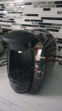 black and gray tassimo coffeemaker North York, M2N
