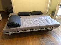 Ikea sofa bed in excellent condition with original futon and fabric cover Baltimore, 21211