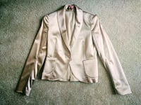 Champagne Theory satin neutral Blazer 4 Rockville, 20852