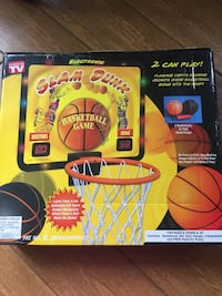 New in box Electronic slam dunk Basketball Game