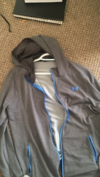 Gray and blue UnderArmor sweater Winnipeg, R2W