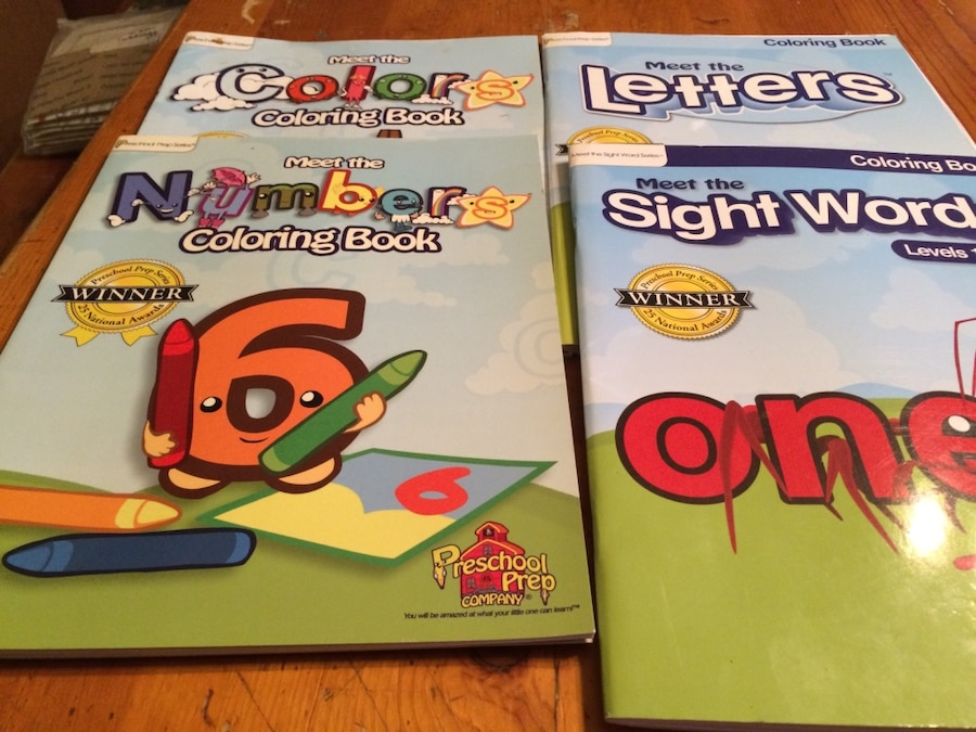 Meet The Sight Words Coloring Books In Oklahoma City