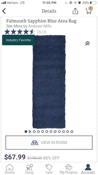*NEW* Navy Rug Youngsville, 70592