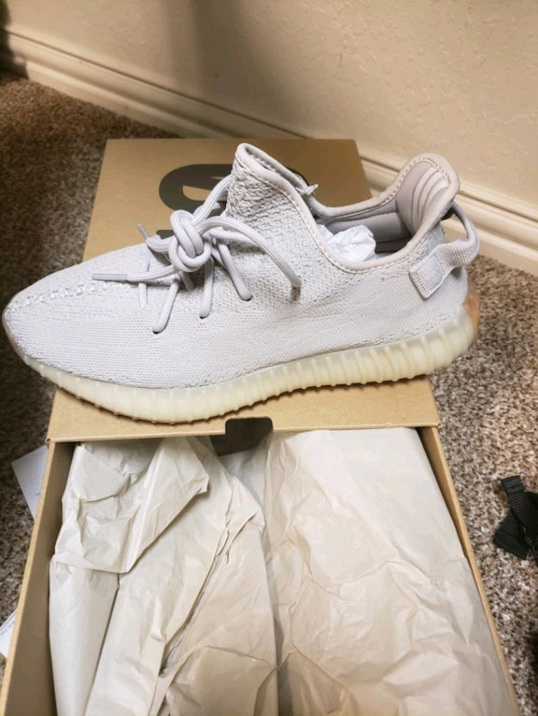 c95641bc3eff2 Used New Yeezy 350 v2 Sesame size 10 for sale in Midlothian - letgo