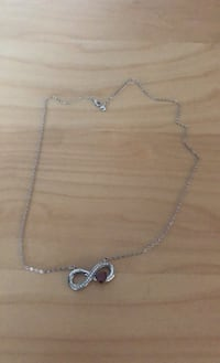 Infinity necklace with heart jewel Falls Church, 22046
