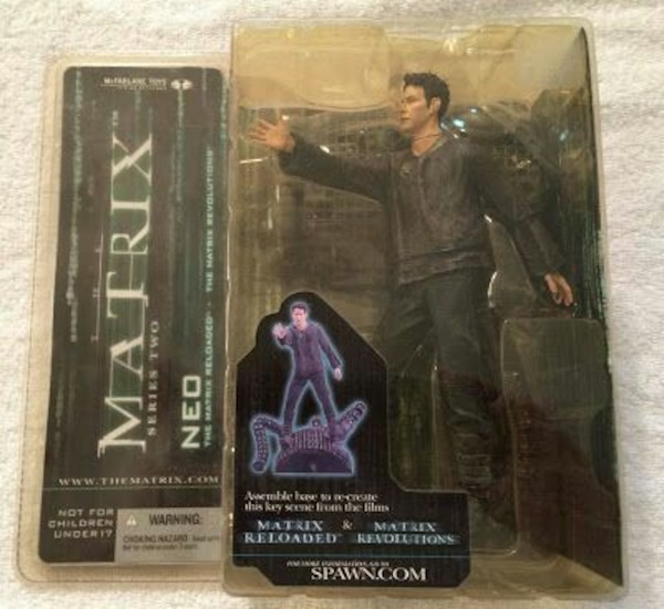 Mcfarlane matrix neo real world 18cm sifir figur