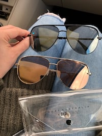 2 pair High Key by Quay x Desi Perkins Sunglasses Manassas, 20110