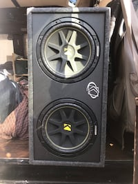 Kicker dual 12in ported subwoofer with 1000w amp Boston, 02118