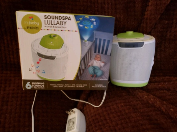 SOUNDSPA LULLABY SOUND AND PROJECTION MACHINE 5d334441-6935-41fa-80a8-d5077476c1a0