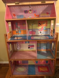 Wooden Dollhouse for Sale HERNDON