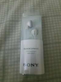 Sony Fashion Earbuds Sterling, 20164