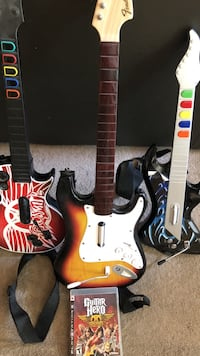 PS3 Guitar Hero w/3 guitars Germantown, 53022