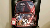 Star Wars Boys' Ep 7 Kylo 15.5 inch Backpack Lunch Reston, 20190