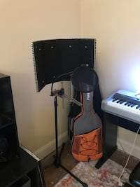 Portable Vocal Booth with stand