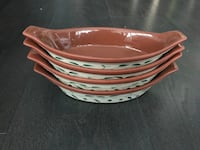 Set of 4 bowls - almost new condition 534 km