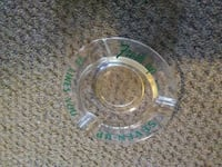 VINTAGE 7 UP GLASS ASH TRAY SEVEN UP Pickering, L1V 3V7