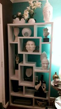 White Decorative Shelves ONLY  $120 It District Heights, 20747