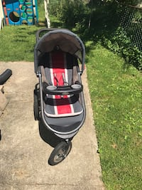 Graco click connect running stroller Linthicum Heights, 21090