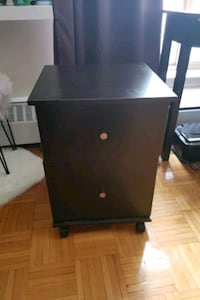 Fileing cabinet/ night stand on wheels Toronto, M3J 2V7