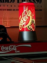 Coca-Cola lighted lamp Toronto, M5R 2E6