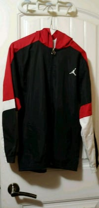 black and red Nike zip-up jacket 3732 km
