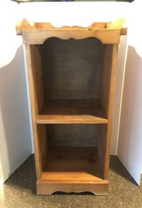 Solid Wood Small Decorative Bookshelf/Knick Knack Shelf Manassas