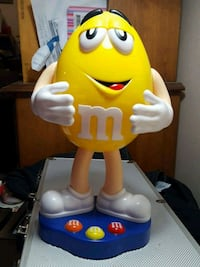 Collectable M&Ms candy dispenser  Victoria, V9A 2Y9