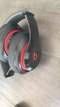 black and red Beats by Dr Los Angeles, 90063