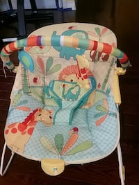 baby's teal and brown bouncer Ajax, L1T 3H6