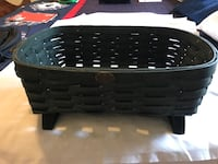Green wicker basket PETERBORO Stephens City, 22655