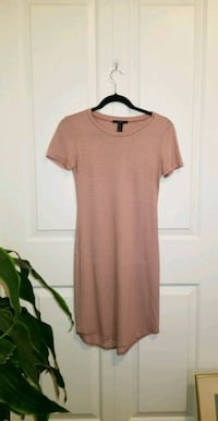 Forever 21 Pink Bodycon Tee dress Surrey, V4P 1C8