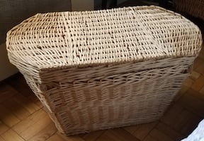 EPIC GINORMOUS WICKER BASKET