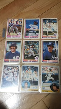 baseball trading card collection Montreal, H3T 1E3