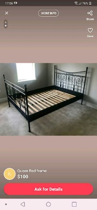 Full size bed frame Fairfax, 22031