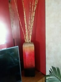 Price reduced... Vase with bamboo reeds Ogden