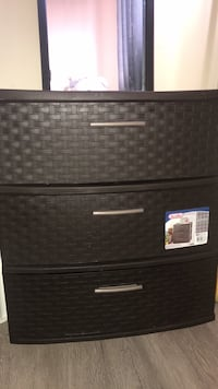 Queen size mattress with box  Ikea side table