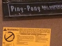 Ping Pong table by Ping Pong 9 by 5 size Centreville, 20121