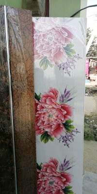white and pink floral print textile Moradabad, 244001